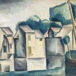 Maisons au bord de l'eau (1910)
