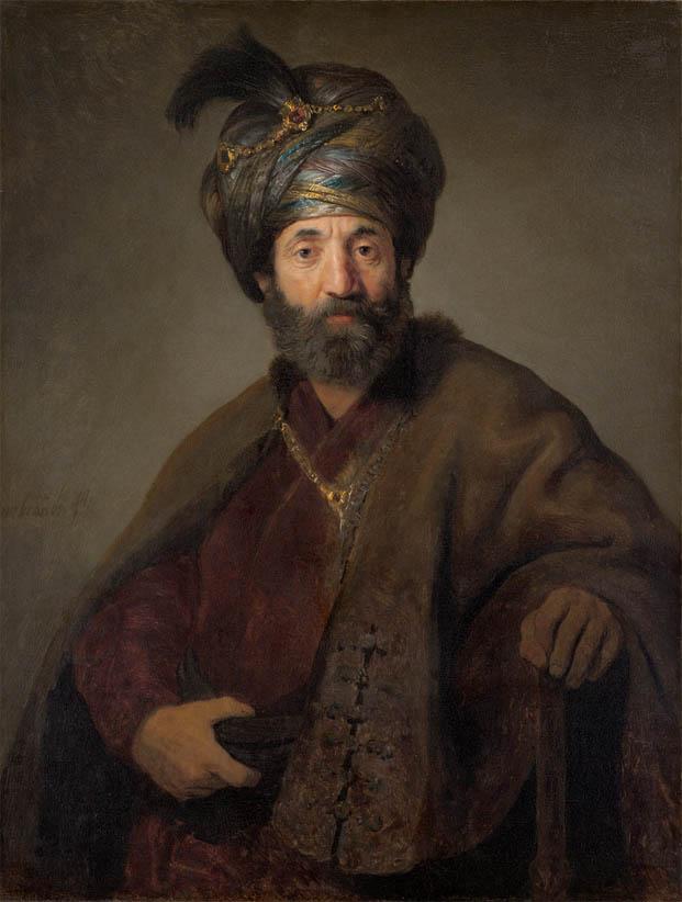 Man in Oriental Costume (c. 1635)