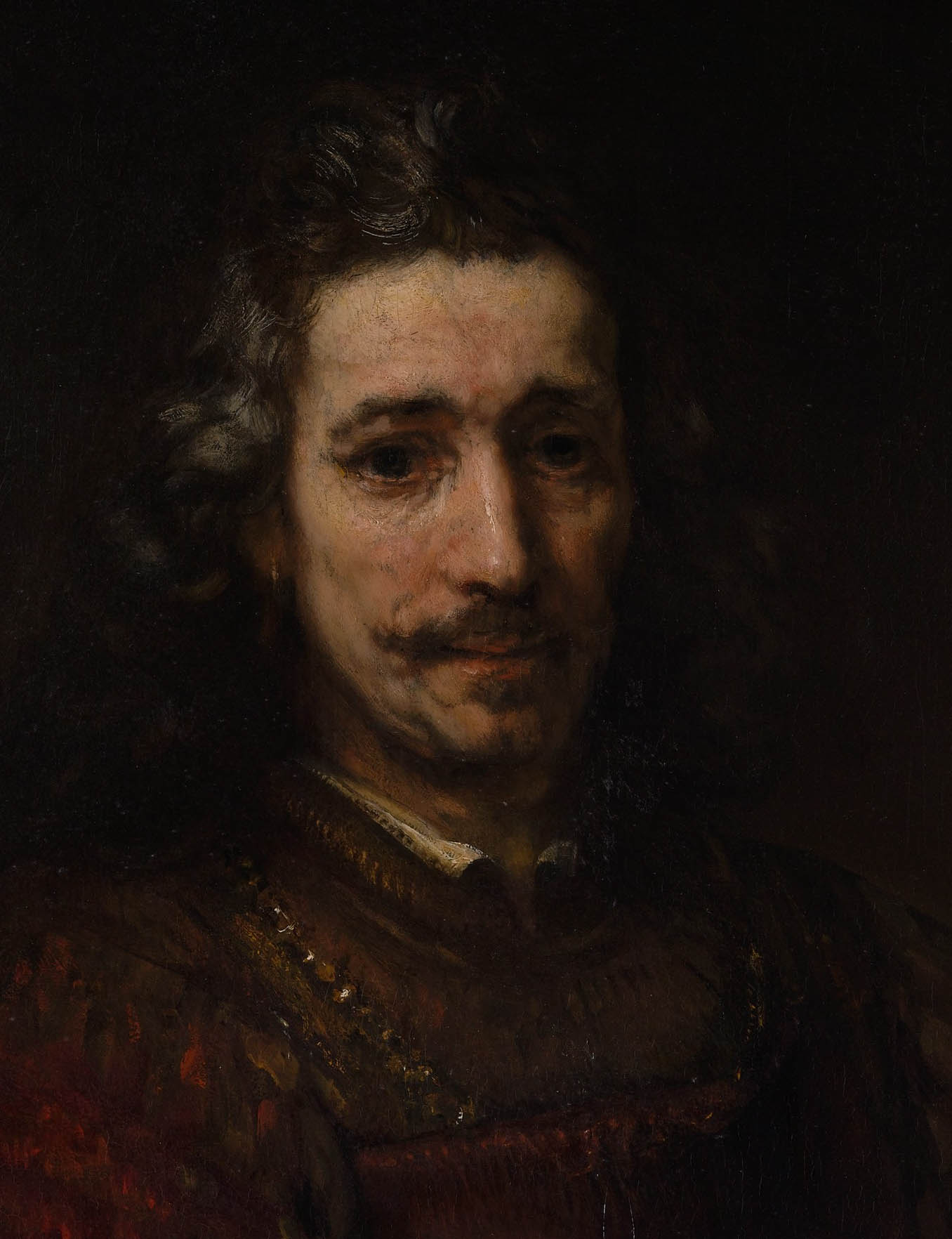 Man with a Magnifying Glass (early 1660s-d-1)