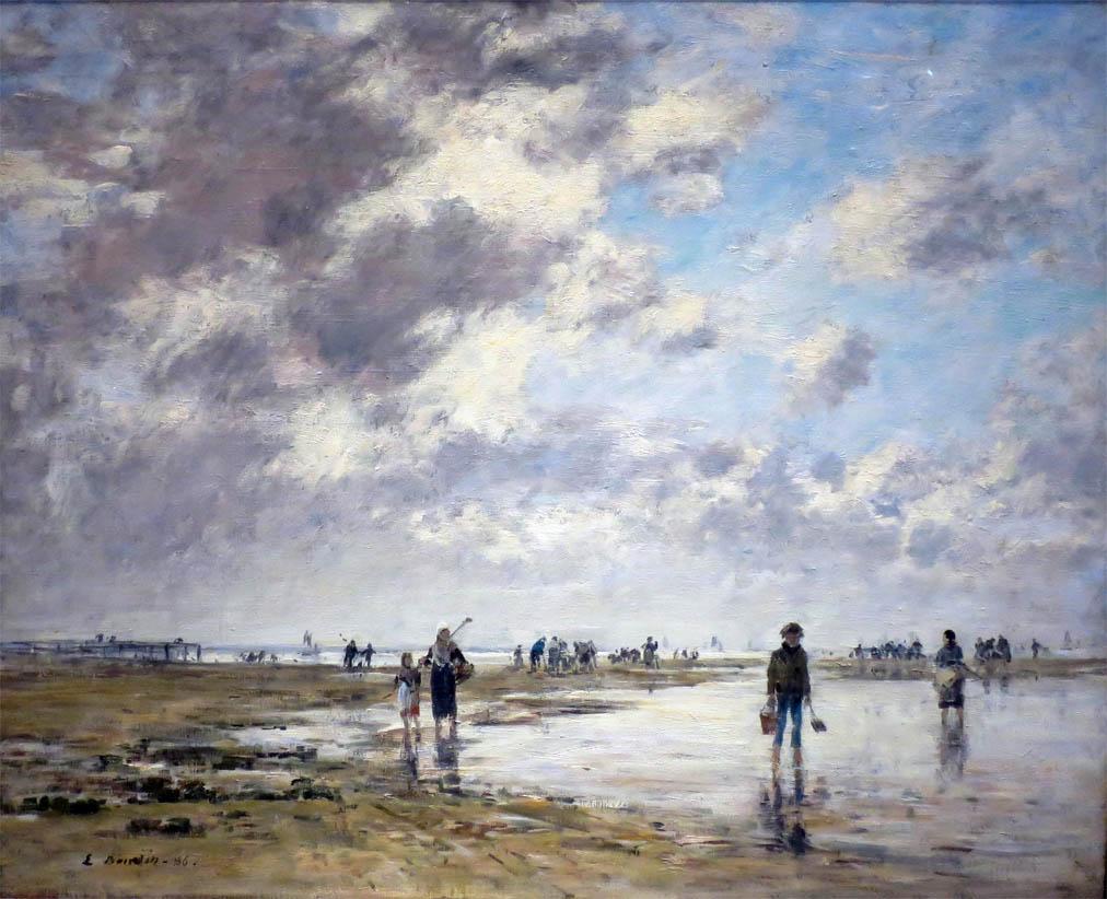 Marée basse, Berck (1886)
