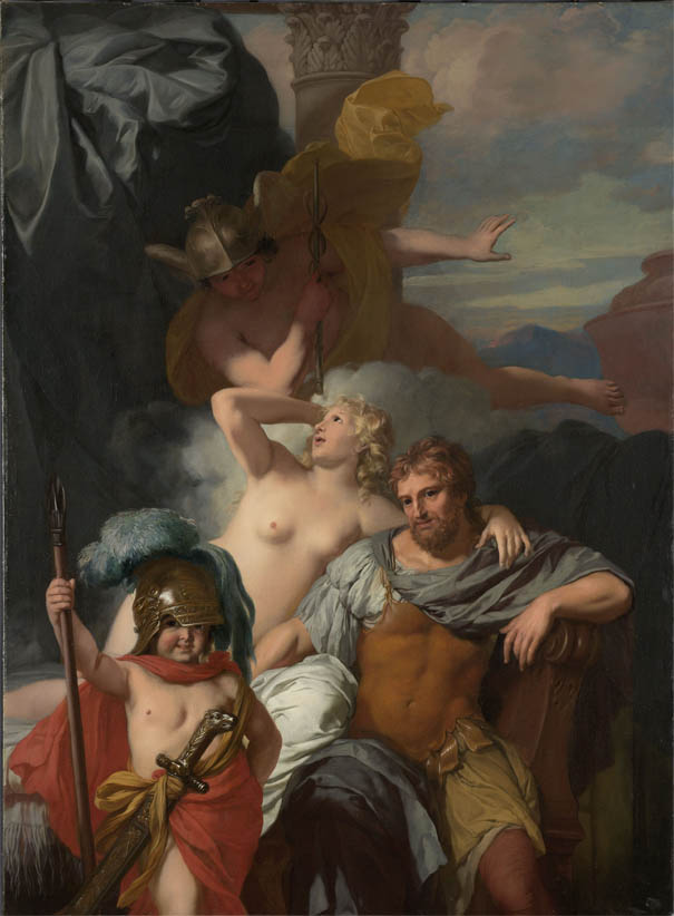 Mercury Ordering Calypso to Release Odysseus (c 1680)