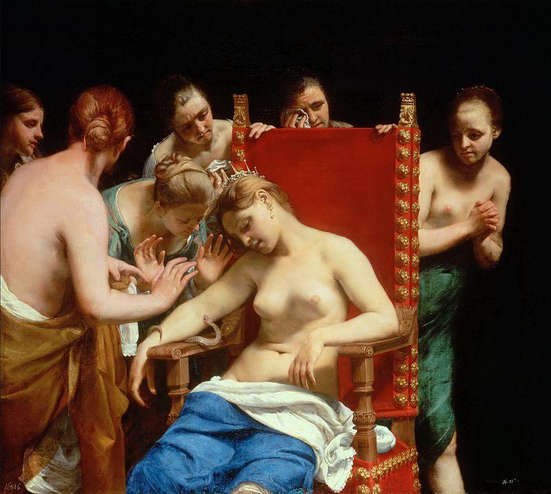 Morte di Cleopatra (1661-1662)