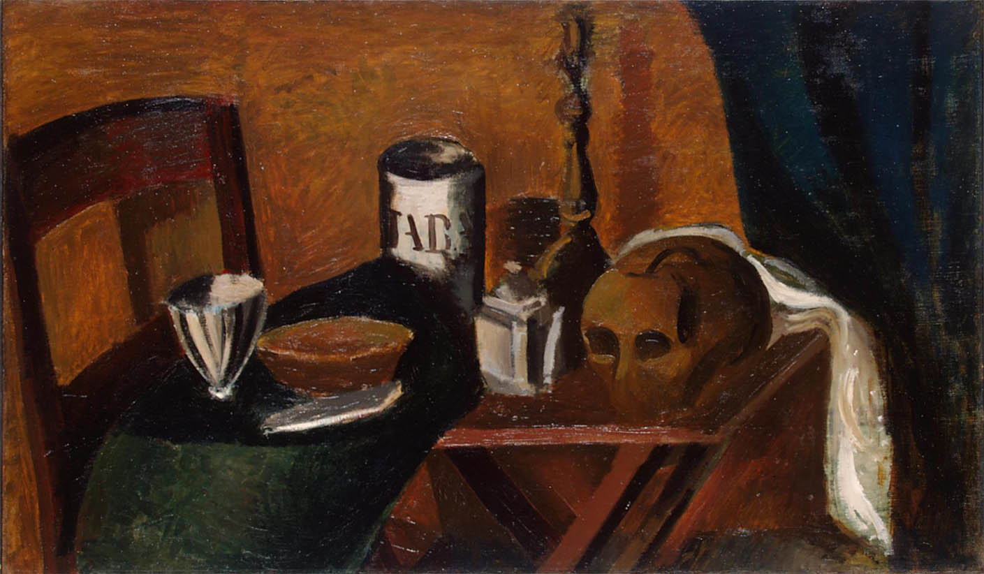 Nature morte au crâne (1912)