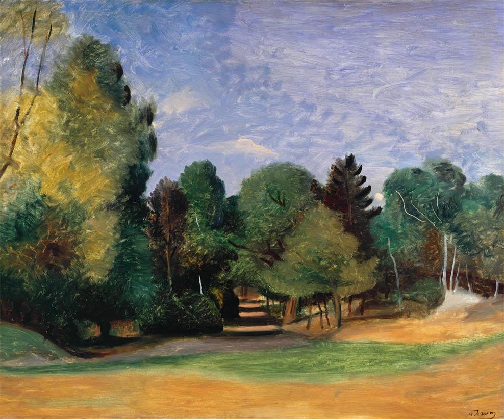 Paysage près de Barbizon (c 1922)