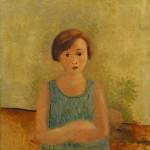 Petite fille en bleu (c. 1928)