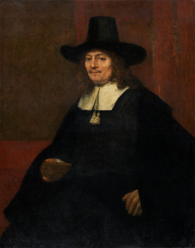 Portrait of a Man in a Tall Hat (c. 1663)