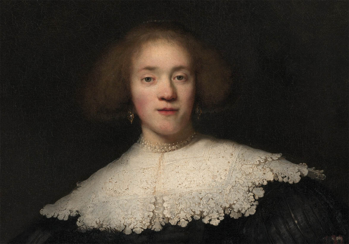 Portrait of a Young Woman with a Fan (1633-d-1)