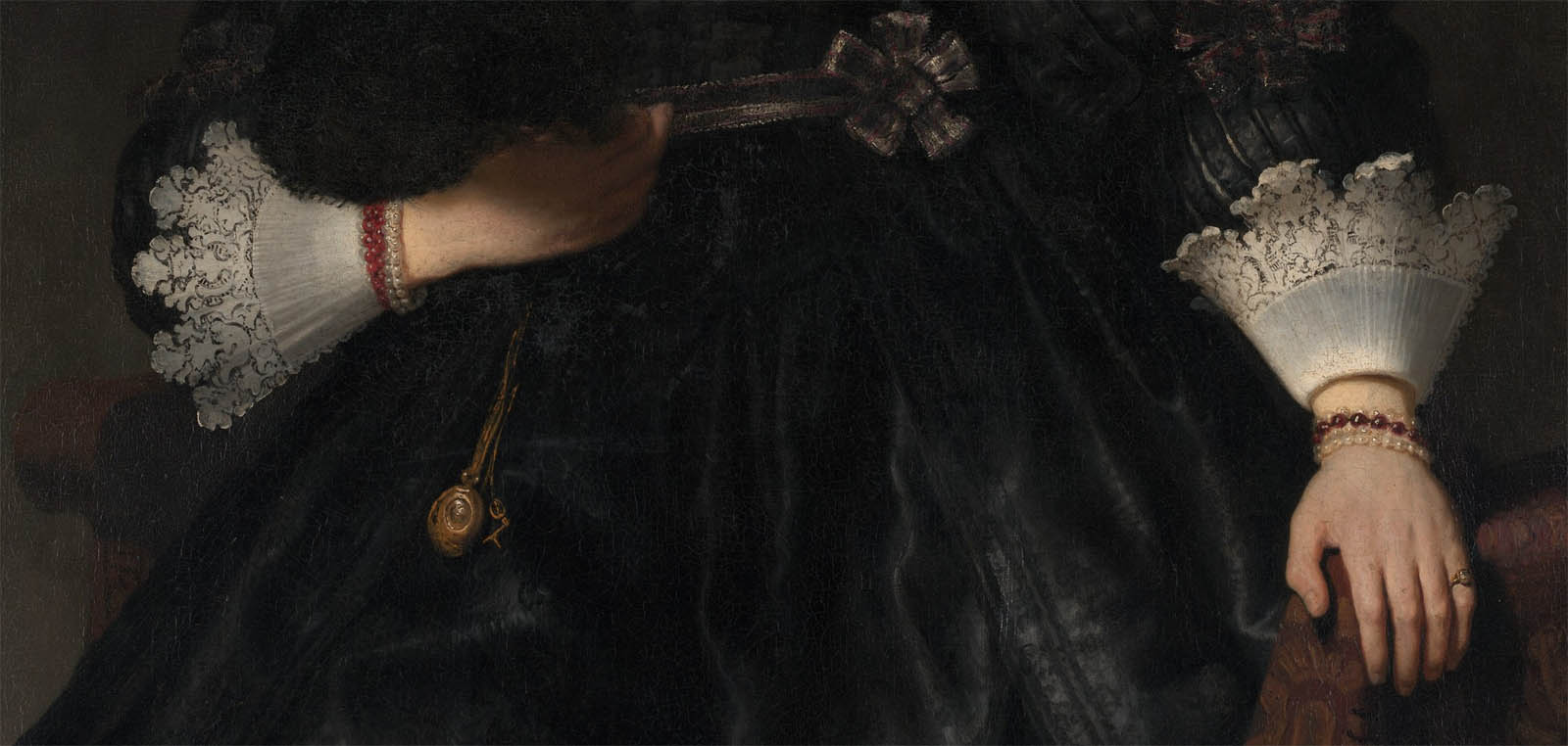 Portrait of a Young Woman with a Fan (1633-d-2)
