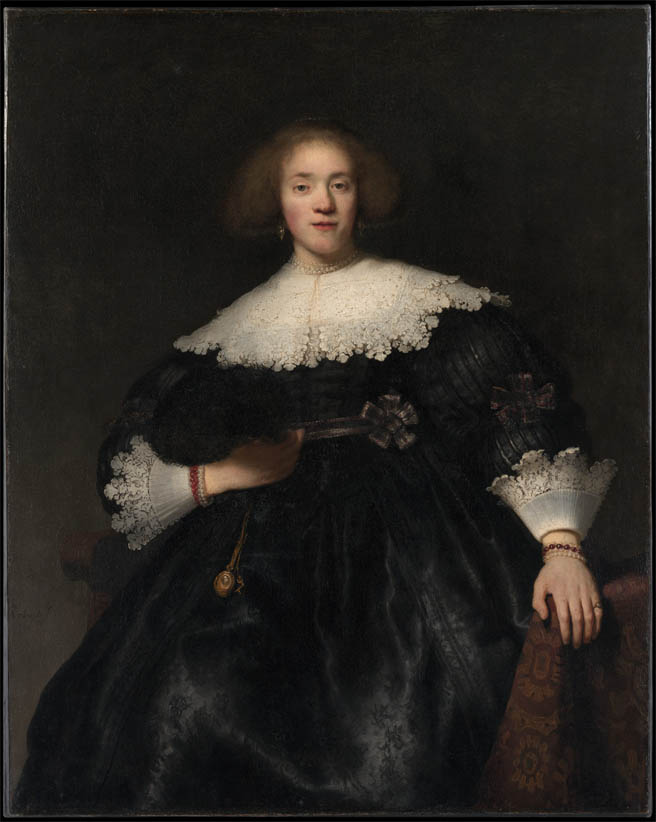 Portrait of a Young Woman with a Fan (1633)