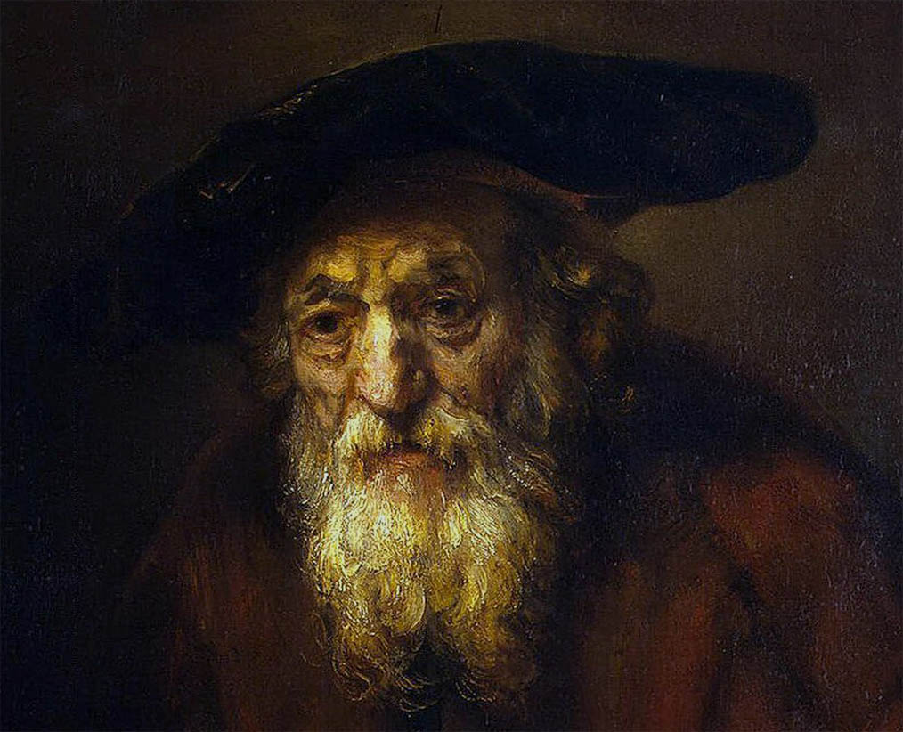 Portrait of an Old Jew (1654-d-1)