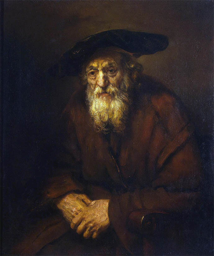 Portrait of an Old Jew (1654)