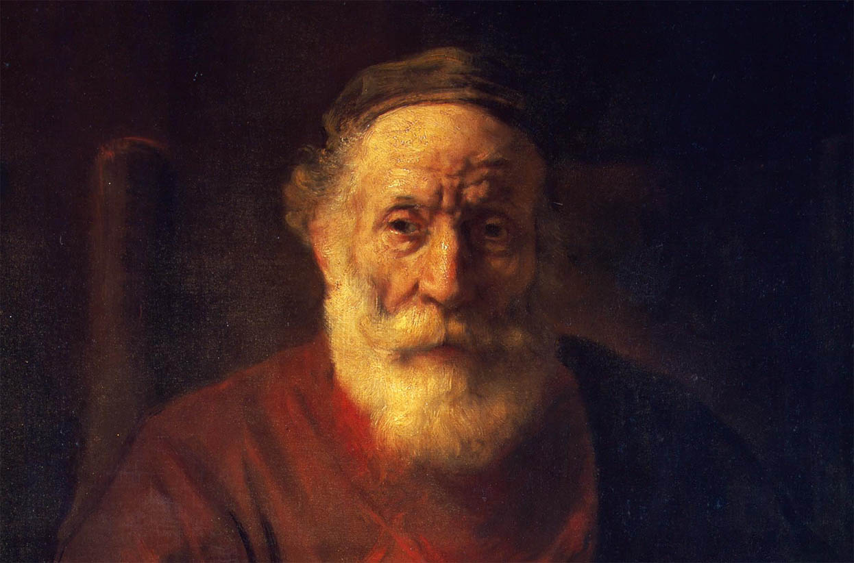 Portrait of an Old Man in Red (1652-1654-d-1)