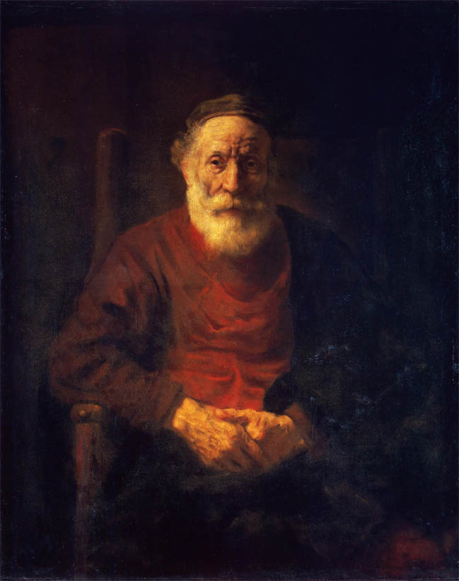 Portrait of an Old Man in Red (1652-1654)
