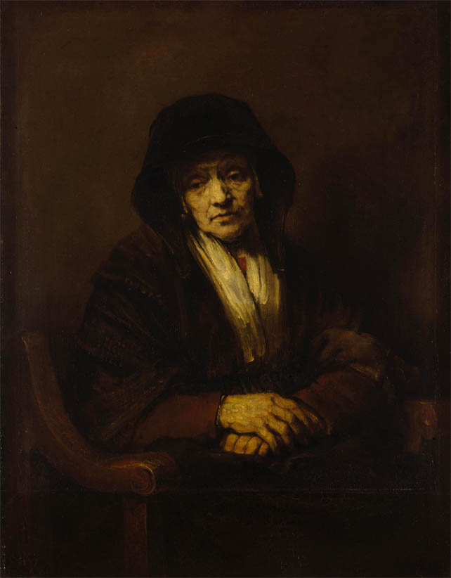 Portrait of an Old Woman (1654)