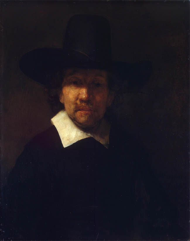 Portrait of the Poet Jeremias de Decker (1666)