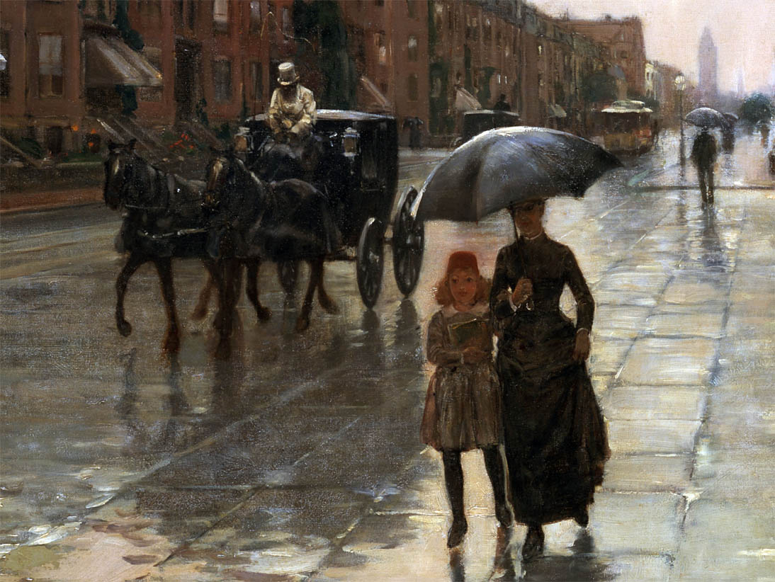 Rainy Day, Boston (1885-d-2)