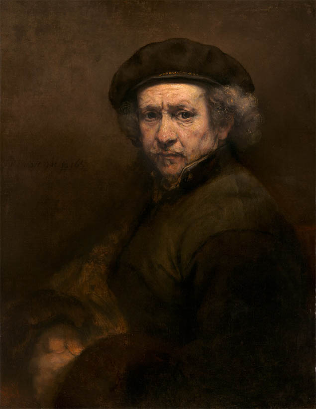 Rembrandt, Self-Portrait (1659)