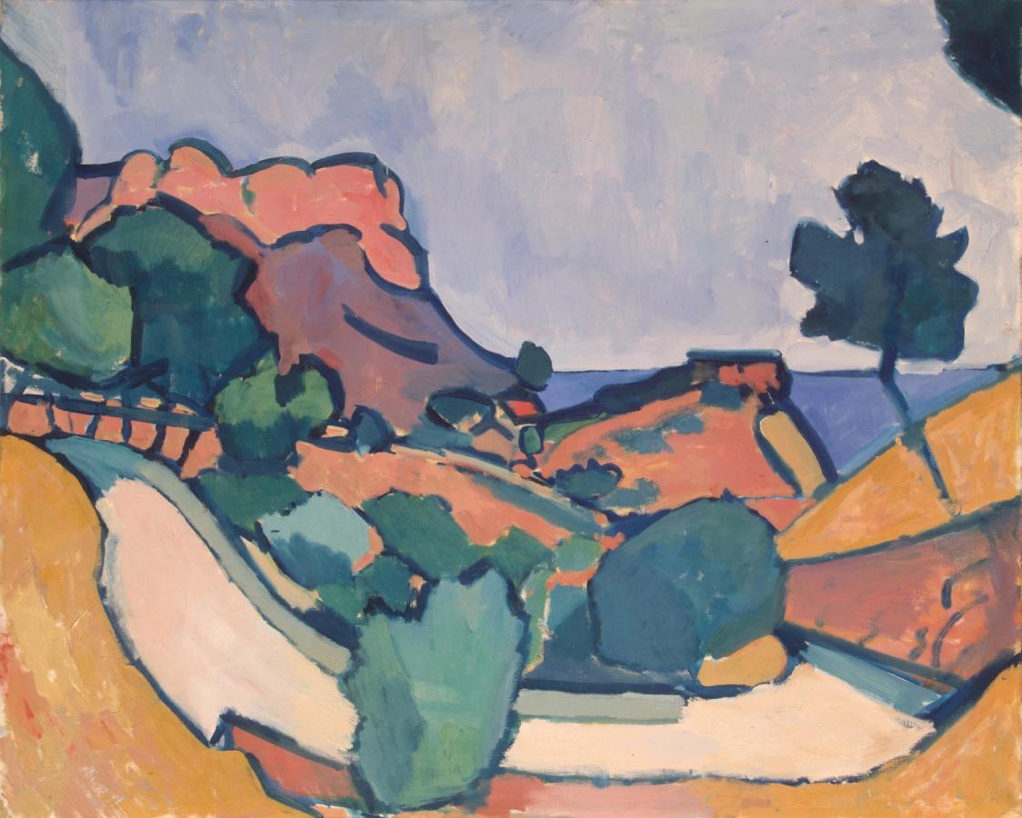 Route dans les montagnes (1907)