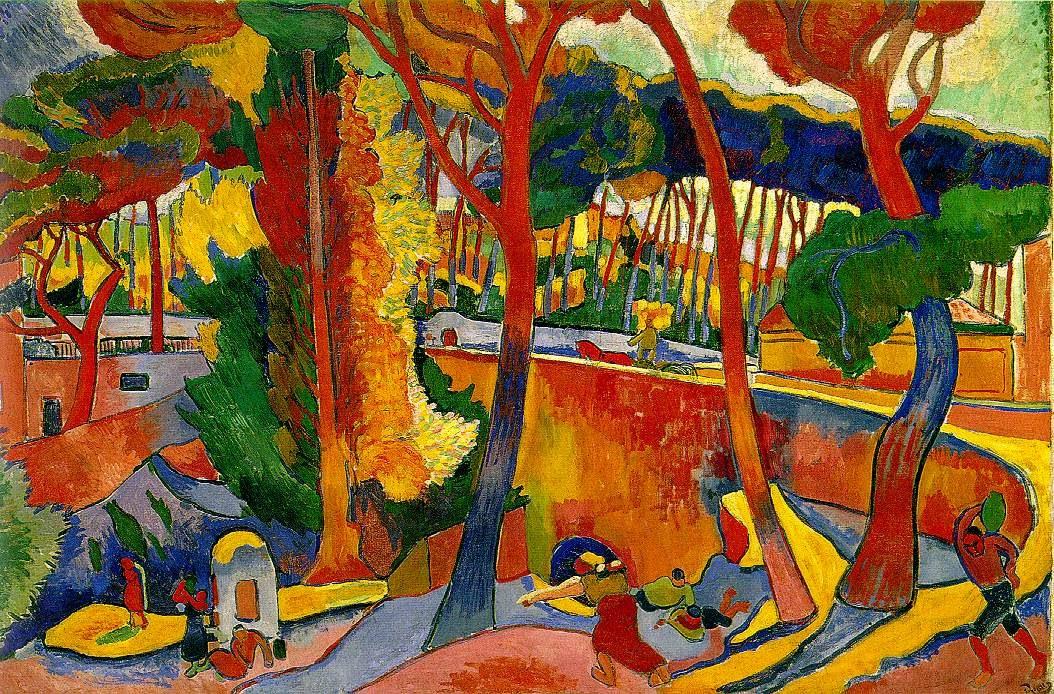Route tournante à L'Estaque (1906)