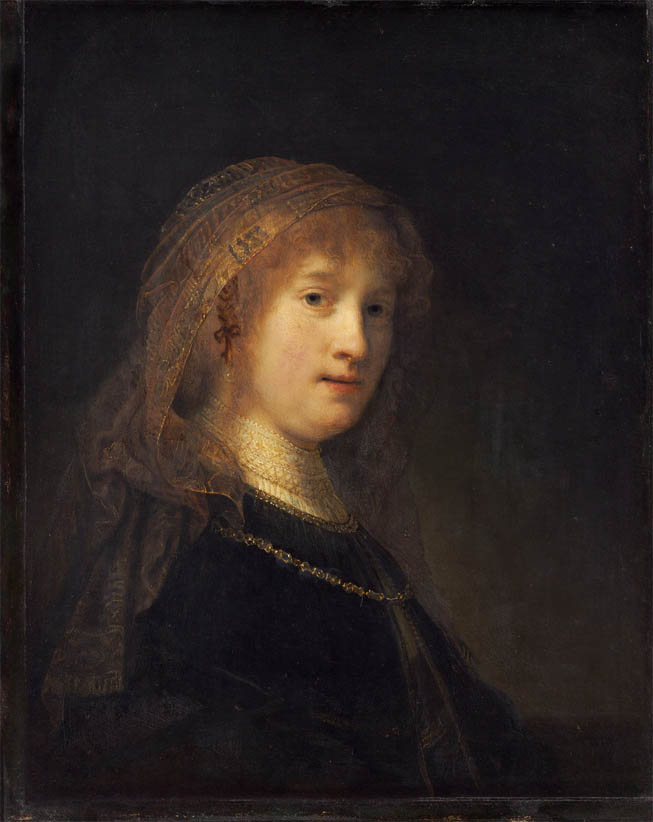 Saskia van Uylenburgh, the Wife of the Artist (1634-1640)
