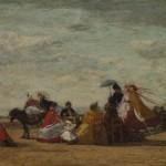 Scène de plage (1865-1867)