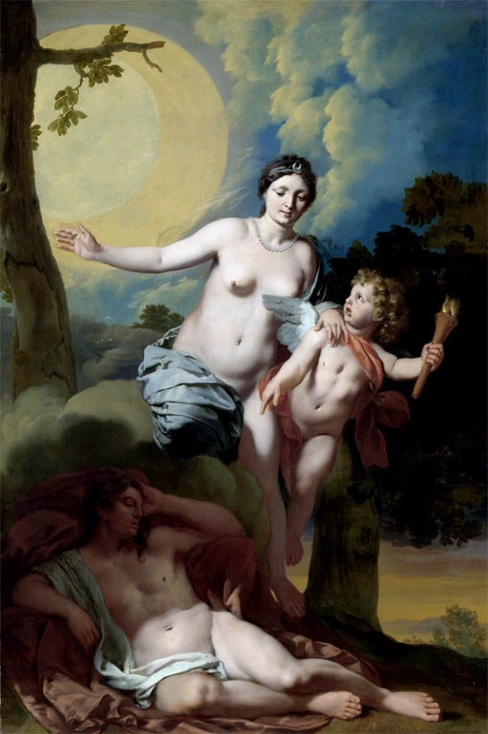 Selene and Endymion (c 1680)