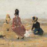Sur la plage, Trouville (1887)