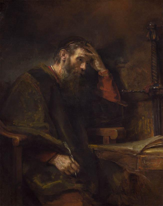 The Apostle Paul (c. 1657)