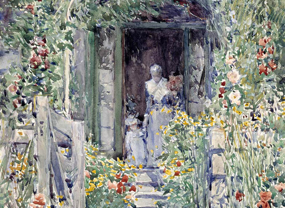 The Garden in Its Glory (1892-d-1)