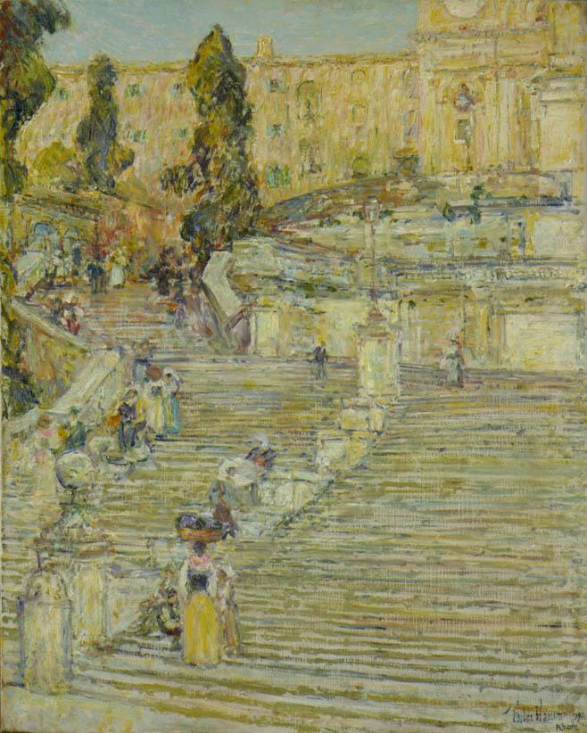 The Spanish Stairs, Rome (1897)