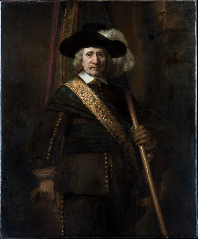The Standard Bearer, Floris Soop (1654)