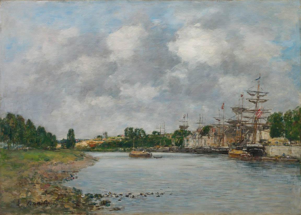 Vue du Port de Saint-Valéry-sur-Somme (1891)