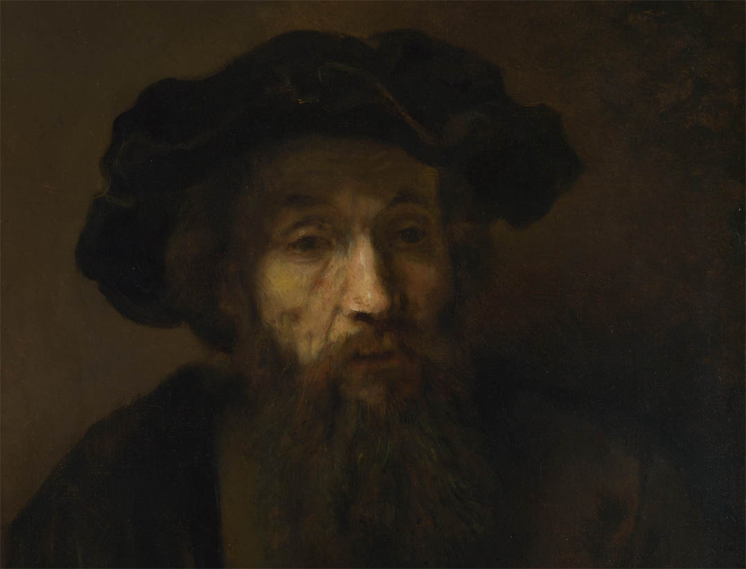A Bearded Man in a Cap (late 1650s-d-1)