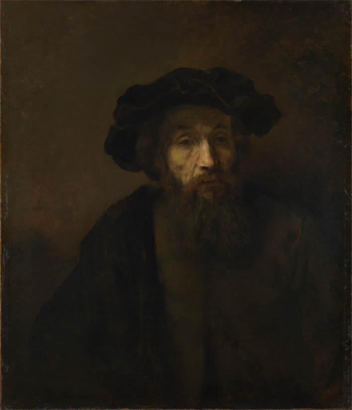 A Bearded Man in a Cap (late 1650s)