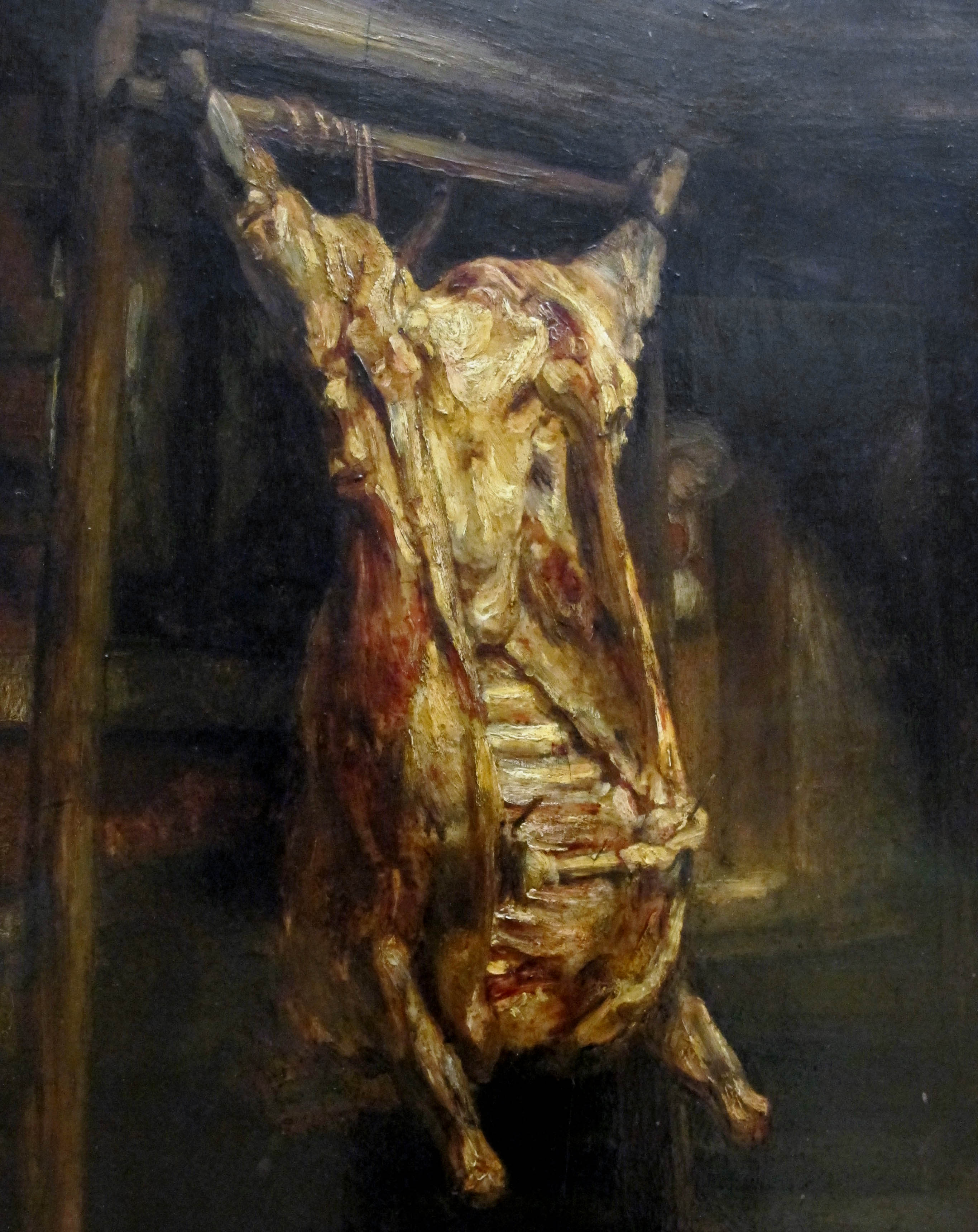 A Slaughtered ox (1655-d-1)