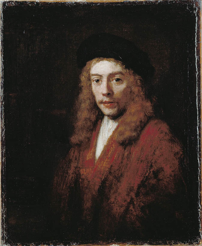 A Young man, perhaps the Artist's Son Titus (1663)