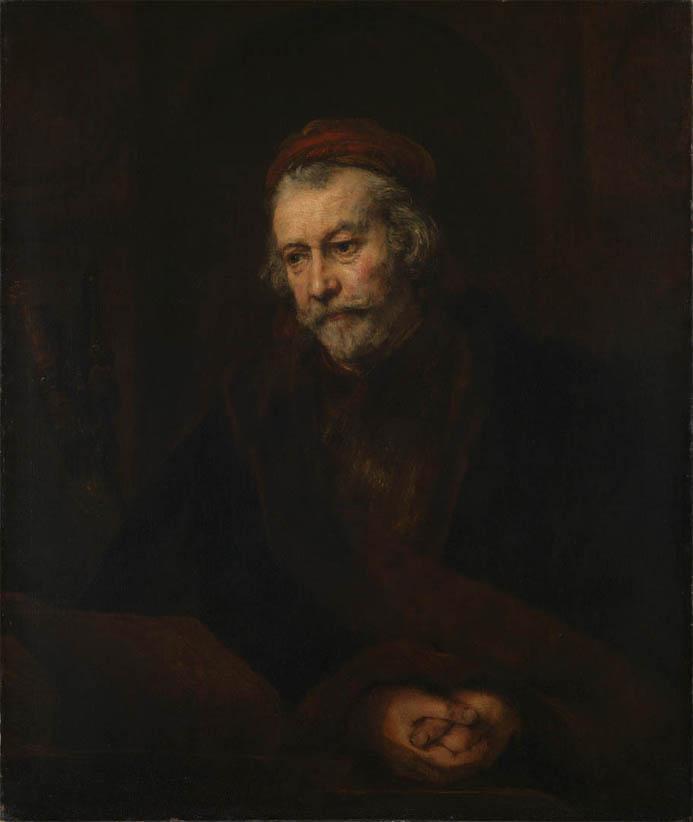 An Elderly Man as Saint Paul (1659)
