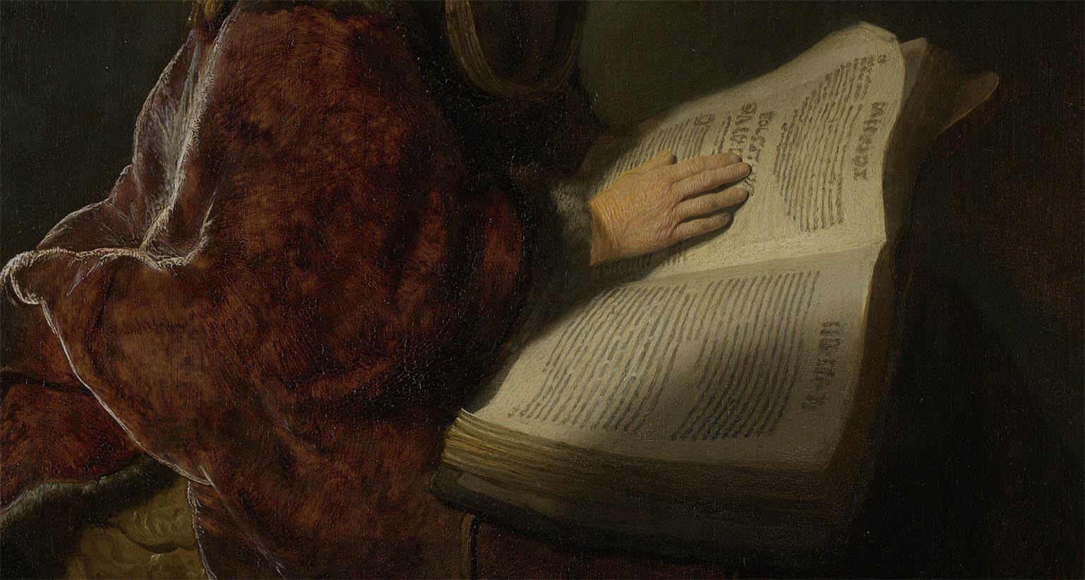 An Old Woman Reading (1631-d-2)