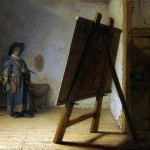 Artist in his Studio (c.1628)