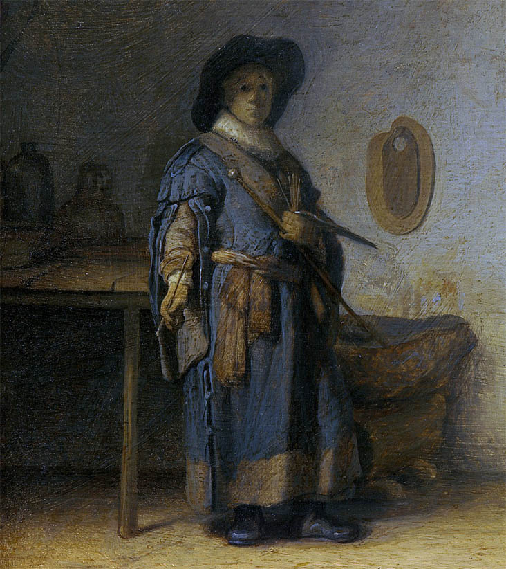 Artist in his Studio (c.1628-d-1)