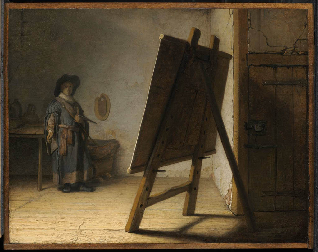 Artist in his Studio (c.1628-fr)