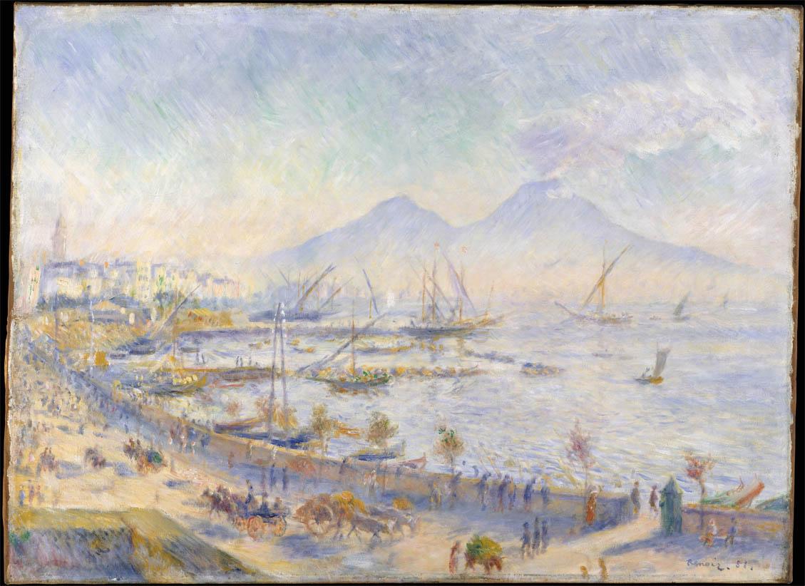 Baie de Naples au matin (1881)