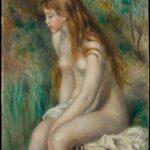 Baigneuse assise (1892)