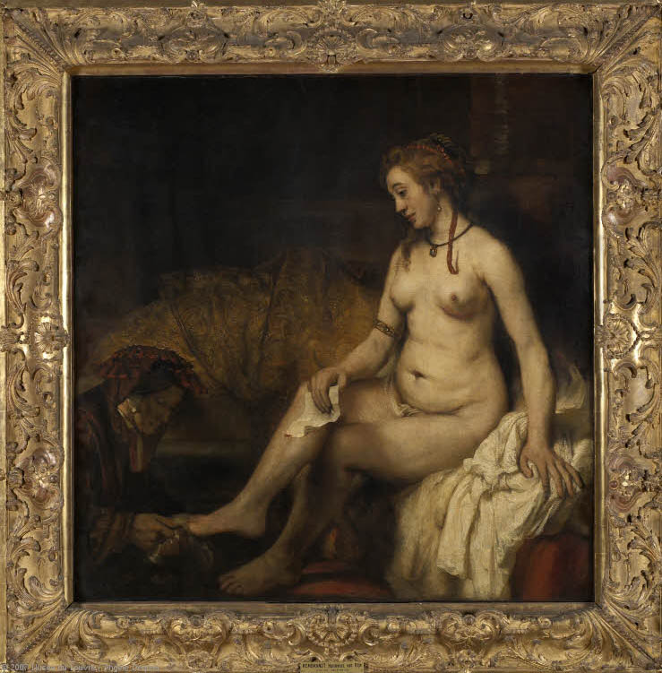Bathsheba at Her Bath (1654-fr)