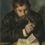 Claude Monet, Le Liseur (1872)