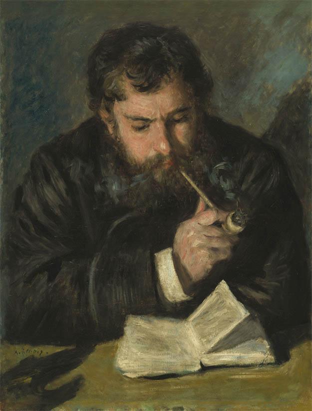 Claude Monet, Le Liseur (1872)