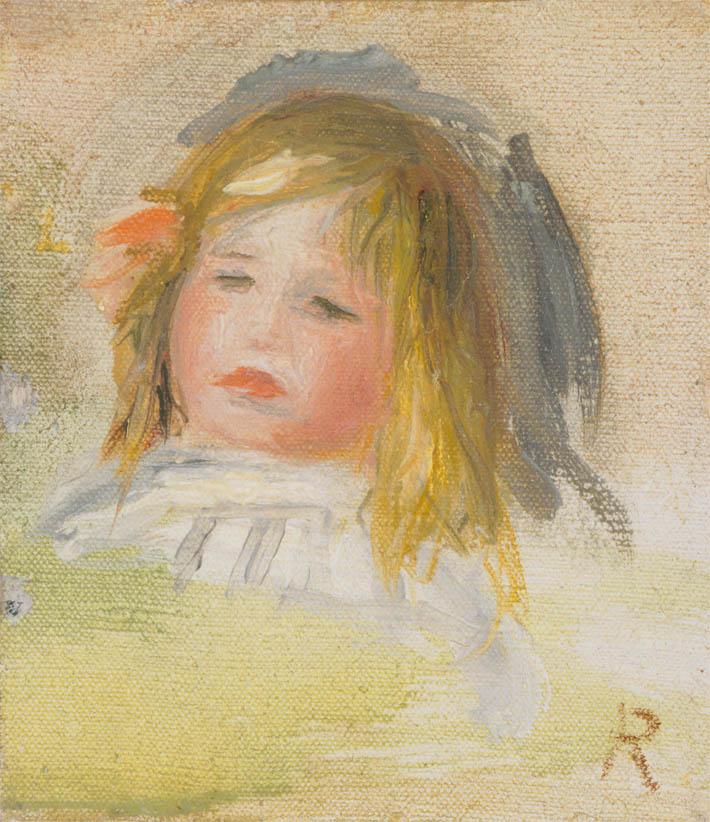 Enfant aux cheveux blonds (1895-1900)