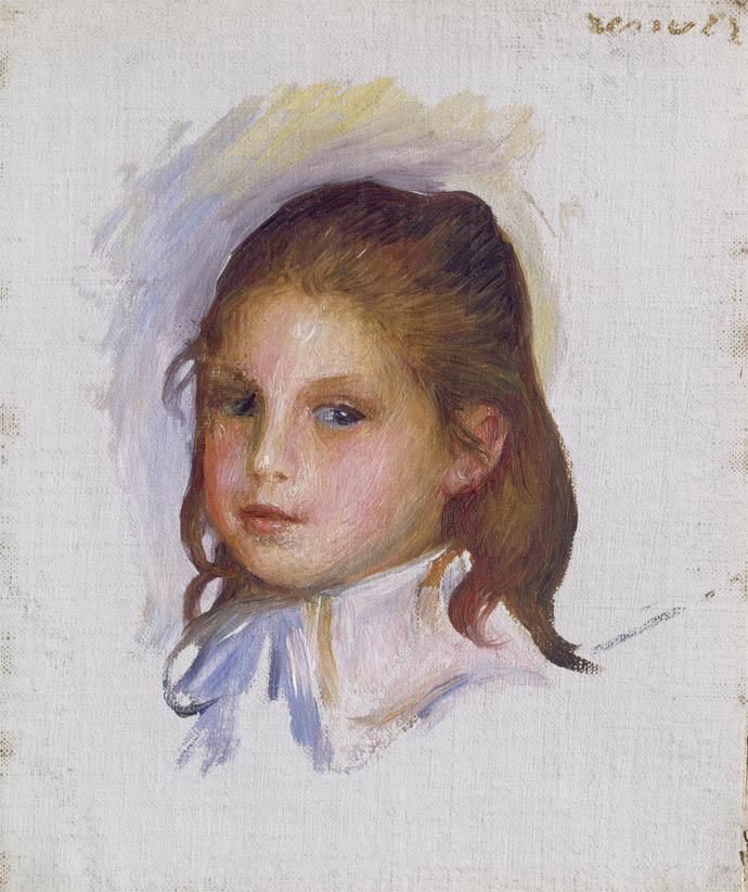 Enfant aux cheveux chatains (1887-1888)