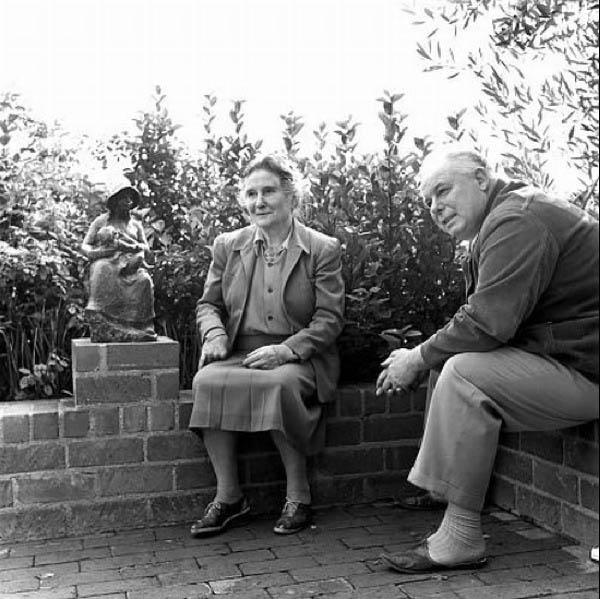 Gabrielle Renard with Jean Renoir