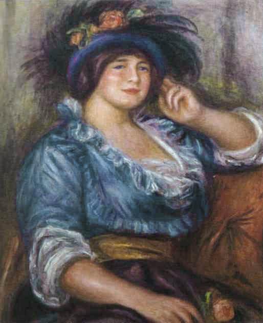 Jeune femme à la rose, Colonna Romano (c. 1913